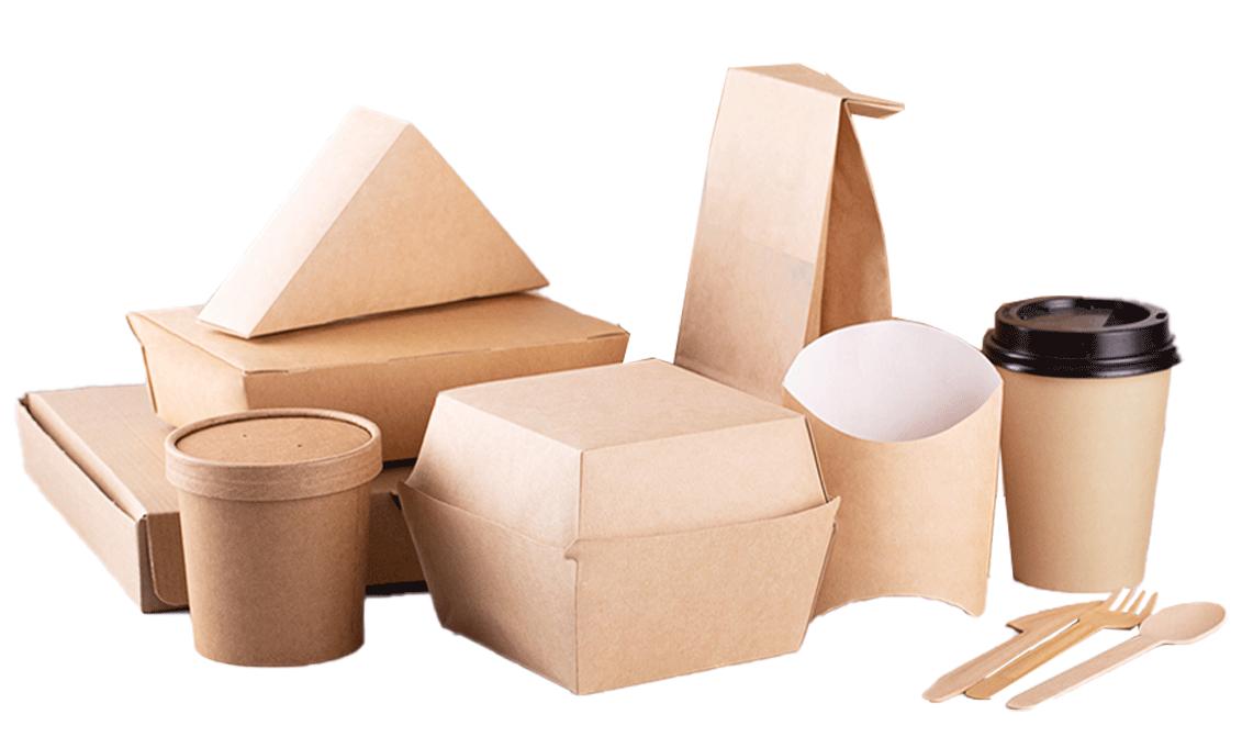 Lebensmittelverpackung: Take-Awaý