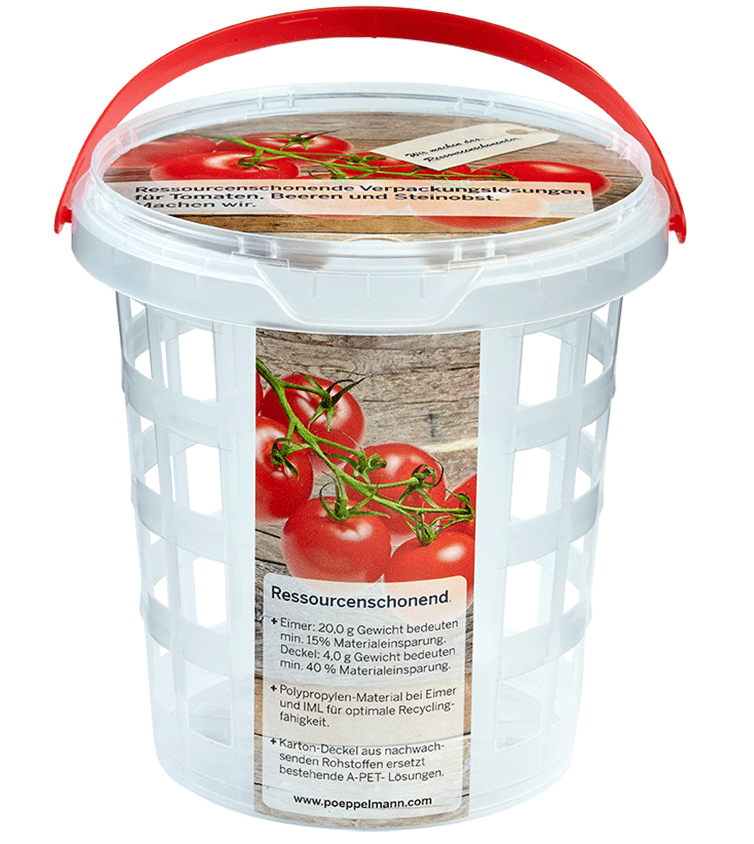 Lebensmittelverpackung: Obst und Gemüse