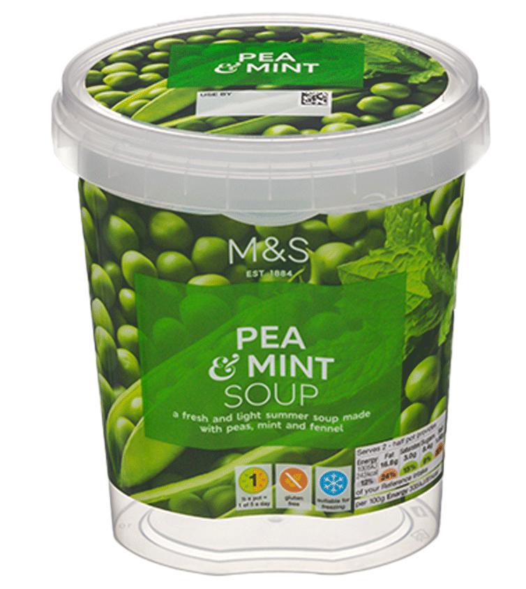 Lebensmittelverpackung: Suppen